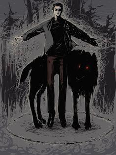 magic stiles wolf derek