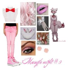 """Mangle outfit #9"" by toy-chica2 ❤ liked on Polyvore featuring Philosophy di Lorenzo Serafini, Haikure, Converse and Freddy"