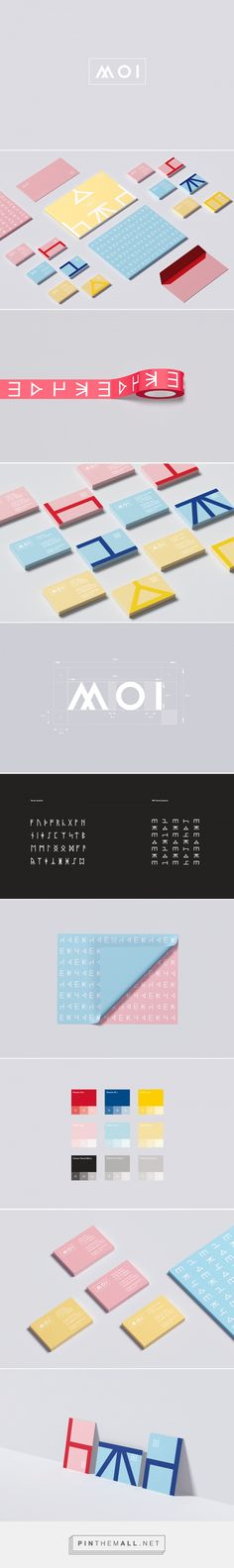 MOI - New Nordic Design Visual Identity on Behance... - a grouped images picture - Pin Them All
