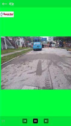 Superior Wash Cleans Oil Spill Oil Spill, Gas Station, Green Leaves, Trucks, Social Media, Truck, Social Networks, Social Media Tips