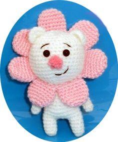 Если хотите сделать оригинальный подарок своими руками, то данная схема вязанного мишки как раз для Вас!