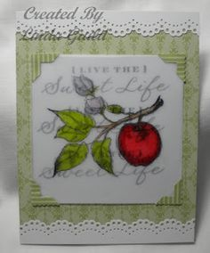 Nothin' Fancy: Sweet Life Stamps Card # 3