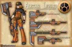 RWBY OC - Alistair Leonard by Diyaru4500.deviantart.com on @DeviantArt