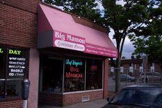 Chef Wayne's Big Mamou, a Southern restaurant on Liberty Street in Springfield, MA. (from http://hiddenboston.com/blogphotopages/BigMamouPhoto.html)