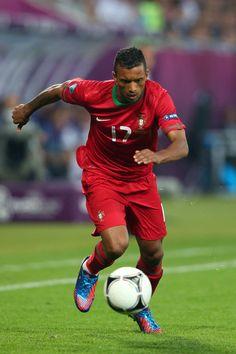 Nani. Germany v Portugal - Group B: UEFA EURO 2012
