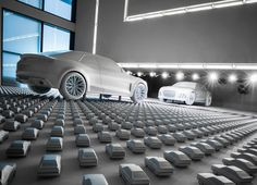 Audi Design wall Sammlung