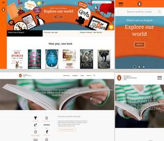 The new Penguin customer website. Very exciting design.