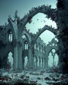 Didier Massard - underwater cathedral