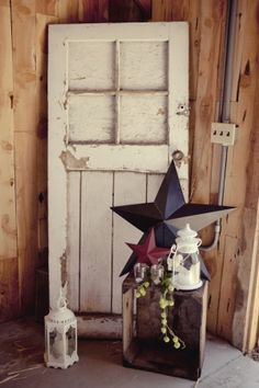 Country, Colonial n' Primitive by antonia I just picked up an old door! Excited!!! :)