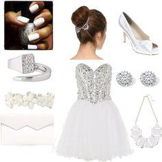 Prom in White