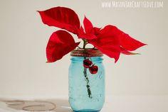 Poinsettia Arrangement  - CountryLiving.com