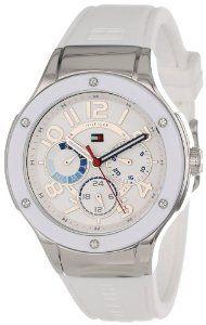 Reloj Tommy Hilfiger triple dial blanco caucho y metal. 807181fa2907