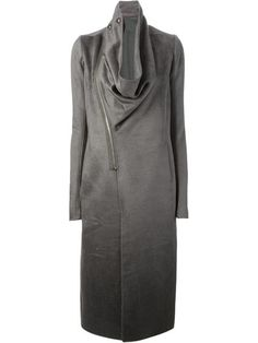 Shop Rick Owens draped collar coat in Idrisi from the world's best independent boutiques at farfetch.com. Over 1000 designers from 60 boutiques in one website.