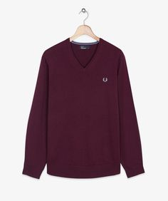 Fred Perry - Classic V Neck Sweater