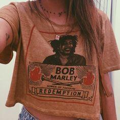bob marley tee