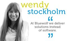 At Bluewolf we deliver solutions instead of software.