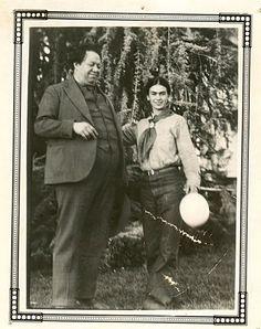 * Diego y Frida: tomada en Santa Rosa, California, 1931