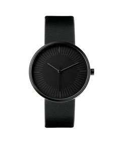 Simpl Watch Gravity Black   Black-on-black