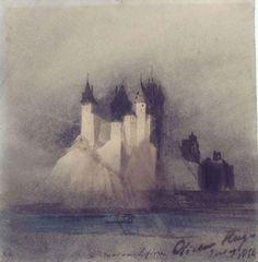 Victor Hugo,Château Fort, 1854