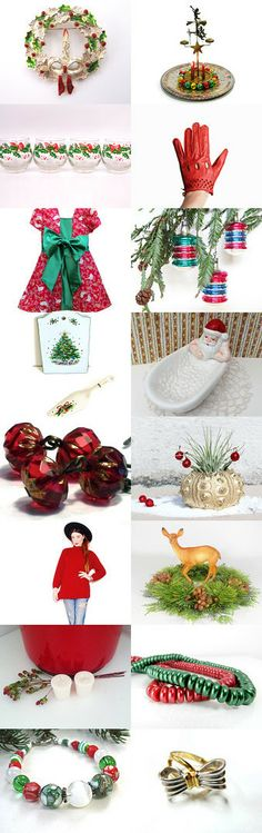 A Vintage Holiday by Judy Lott on Etsy--Pinned with TreasuryPin.com