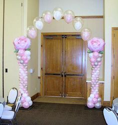 Balloon Columns, Balloon Arch, Balloons, Henna Artist, Balloon Decorations, Arches, Tattoo Artists, Custom Design, Sculptures
