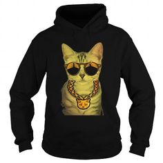 Cute Bad Ass Gangster Cat Boss -Gold Chain Sunglasses Shirt LIMITED TIME ONLY. ORDER NOW if you like, Item Not Sold Anywhere Else. Amazing for you or gift for your family members and your friends. Thank you! #original #gangster #shirts
