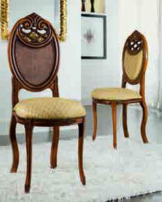 Scaun su spatar sculptat este o piesa de mobilier gratioasa, in stil baroc, cu elemente decorative sculptate manual care aduce eleganta interioarelor noastre. Este lucrat manual, din lemn de fag. Tapiseria si culoarea lemnului, va invitam sa le personalizati in functie de ambientul  casei dumneavoastra #scaun #scaune #chair #chairs #scauneclasice #scaunetaptate #scauneliving #scaunebucatarie Dining Chairs, Furniture, Home Decor, Decoration Home, Room Decor, Dining Chair, Home Furnishings, Home Interior Design, Dining Table Chairs