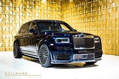 Rolls-Royce Cullinan by Mansory - Hollmann - Luxury Pulse Cars - Germany - For sale on LuxuryPulse. Ferrari Laferrari, Lamborghini, Bmw, Audi, Porsche, Mercedes Benz Maybach, My Dream Car, Dream Cars, Dream Life