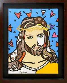 Cristo art pop Gil Motta