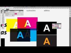 Tutorial de color RGB-CMYK paletas de color reviente tipografico armado de…