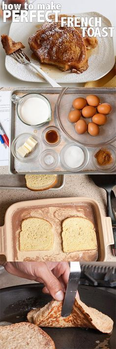 Perfect French Toast is only minutes away! Follow this easy how-to.