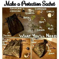 Protection sachet- let's make these the next time we're together.