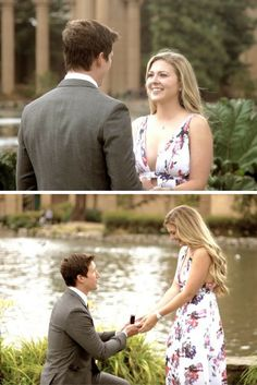 This elaborate marriage proposal lasted three full days! She was pampered, went shopping, and spent time with friends and family until the big moment when he got on one knee. <3