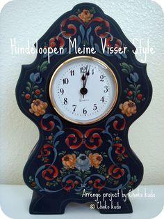 Meine Visser Style / a Clock