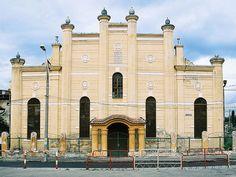 the synagogue of Mediaş/Mediasch/Medgyes
