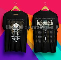 MANOWAR The Final Battle World Tour 2019 T-Shirt Full Dates Men//Women Size S-3XL