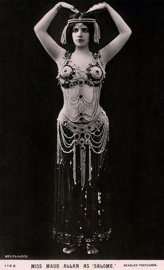 Maud Allan as Salome