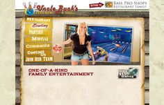 Did YOU know that Bass Pro Shops in Altoona has a 12-lane aquatic themed bowling area?