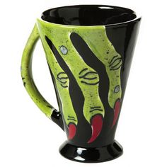 Witch's Hand Mug - paint your own pottery.