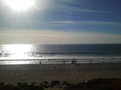 This is where Ashford student Antoine B. takes his study breaks. Can we join? That beach is beautiful.
