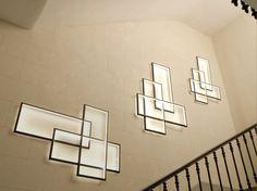 LED indirect light wall lamp TRIO LT - CINIER Radiateurs Contemporains