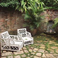 grass and pavers Barbados, Jamaica, Puerto Rico, Cuba, Bahamas, Outdoor Furniture Sets, Outdoor Decor, Grass, Interior