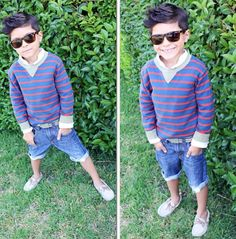 Cute shades!! love preppy style for little young men :) soooo cute :)