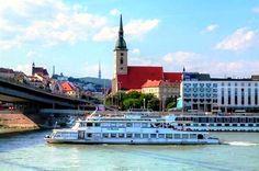 Danube sightseeing cruises in Bratislava Bratislava, Cruises, San Francisco Ferry, Building, Blog, Travel, Voyage, Buildings, Cruise