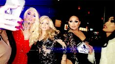 Willam Belli (videographer), Alaska Thunderfuck, Courtney Act, Mariah Balenciaga and Gia Gunn