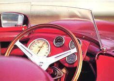"""frenchcurious: """" Lancia D24 (en photo le modèle parfaitement restauré par les ateliers Conrero à Turin qui s'attribua la Targa Florio en 1954 aux mains de Piero Taruffi) - Automobiles Classiques avril..."""