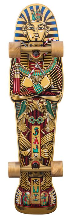 Awesome! skateboard fit for a pharoah