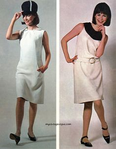 Butterick 1965  Designs by Mary Quant