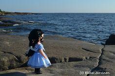 Mulan's sailor dress. I took the photo in beautiful Kallo, Pori (West Coast of Finland).