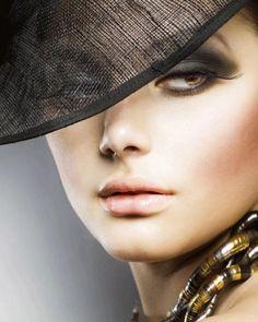 Makeup for blue eyes Model Agency London, London Models, Deer Eyes, Makeup Gallery, Blue Eye Makeup, Shades Of Black, Makeup Junkie, Blue Eyes, Fashion Models